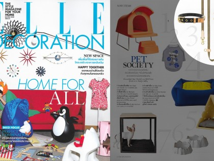 SIT.STAND.STAY in ELLE DECORATION Thailand
